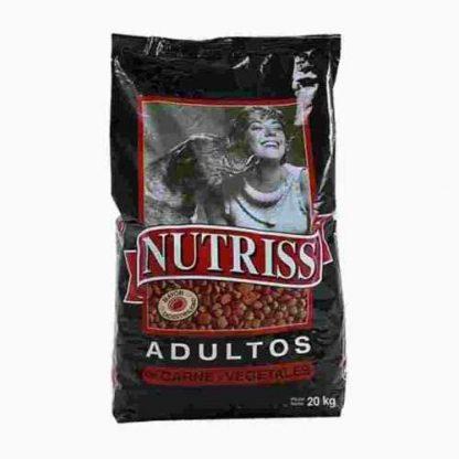 Nutriss Adultos Carne y vegetales 30 kg