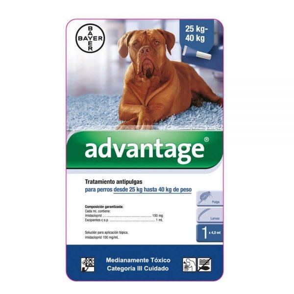 Advantage Perros 25 kg a 40 Kg