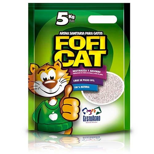Arena para Gatos Fofi cat 5 kg