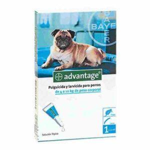 Advantage para perros 4 kg a 10 kg