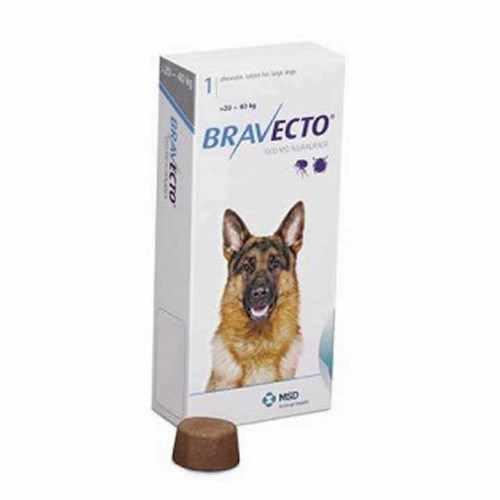 Bravecto perros 20 a 40 kg de peso