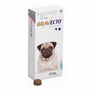 Bravecto perros 5 a 10 kg