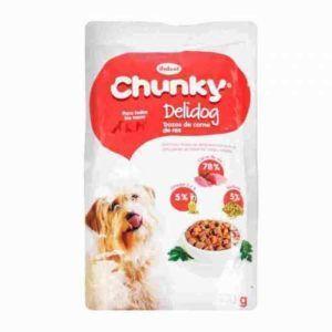 Chunky Delidog Trozos de carne 100 gr