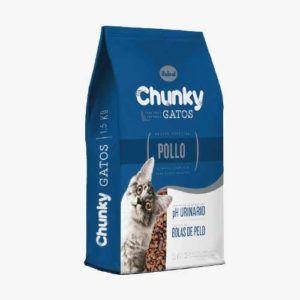 Chunky Gatos Pollo 8 Kg