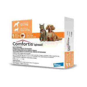 Comfortis para perros y gatos de 5 a 10 kg