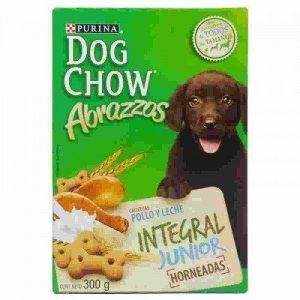 Galletas Dog Chow Abrazzos Integral Junion 300 Gr