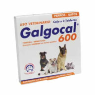 Galgocal 600 Desparasitante 2 tabletas