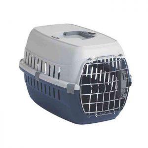 Guacal para Perros puerta metálica
