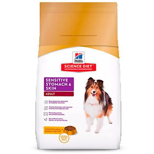 Hills Perros Adultos Sensitive Stomach and Skin