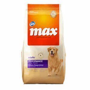 Max adulto perfomance pollo y arroz para perros
