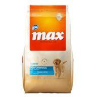 Max Cachorros. Pollo y Arroz. 20 kg
