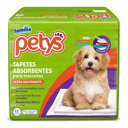Tapetes Petys Absorbentes x 7 un