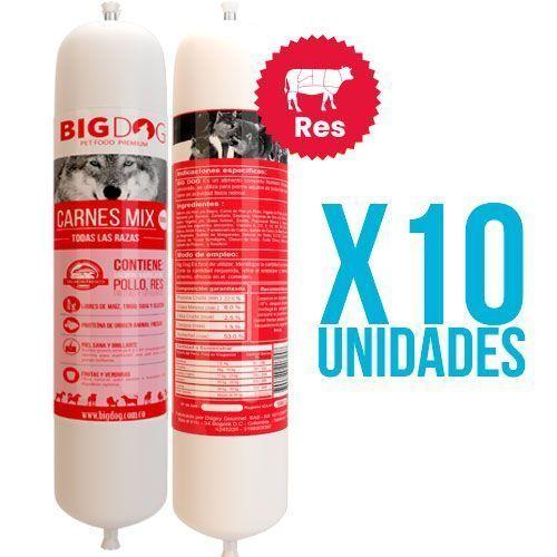Dieta Barf Res x10 unidades