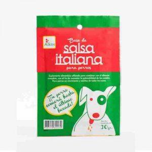 Salsa Italiana para Comida para perros AIKOS 30 Gr