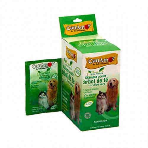 Shampoo para perros Aceite de arbol de te