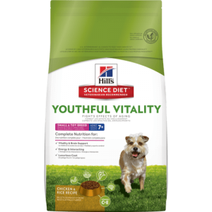 Hills Youthful Senior Vitality Small & Toy Breed 3.5 lb