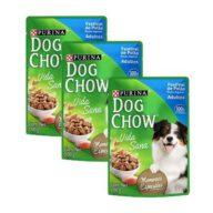 Dog chow pouch festival de pollo 3 unidades