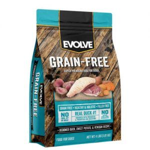 Evolve Grain Free Duck DogFood
