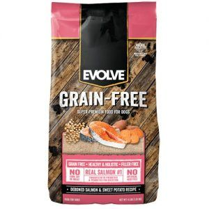 Evolve Grain Free Salmon DogFood