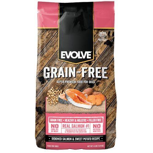 Evolve Grain Free Salmon DogFood