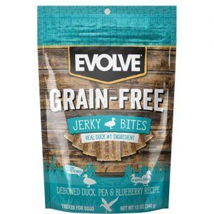 Evolve GrainFree Duck Jerky