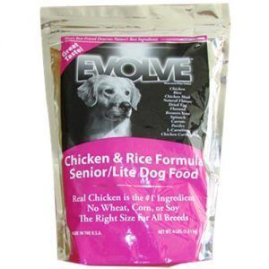 Evolve chicken Rice Formula Senior