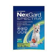 NexGard Spectra para Perros de 7.6 a 15 Kg.