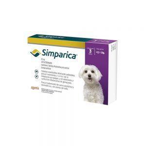 Simparica para Perros. de 2.5 a 5 Kg