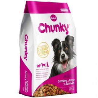 Comida para Perros Chunky adultos cordero y arroz