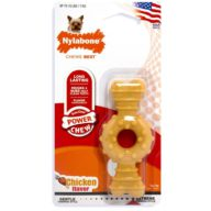 NYLABONE Power Chew Hueso Ring Petite Pollo