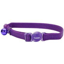 COASTAL Collar Gato Safe Morado