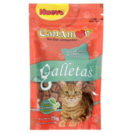 Galletas para Gatos Canamor