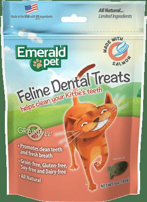 EMERALD PET CAT SNACK DENTAL Salmon