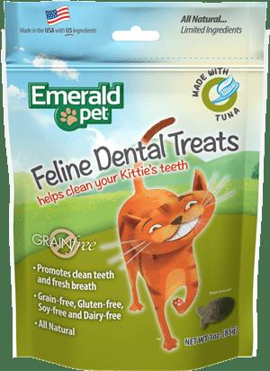 EMERALD PET Cat Snack Dental Atun