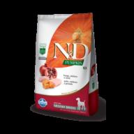 N&D Pumpkin Canine Adulto Medium Pollo, Calabaza y Granada