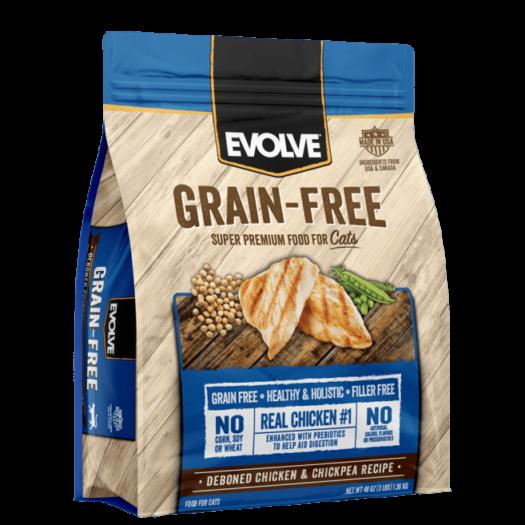 EVOLVE Cat Grain Free Chicken - Pollo