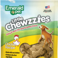 EMERALD PET DOG SNACK LITTLE CHEWZZIES - POLLO 5OZ