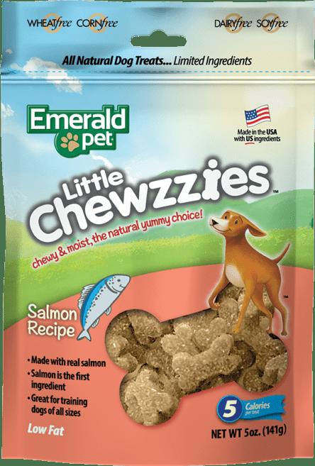EMERALD PET Dog Snack Little Chewies-Salmon 5