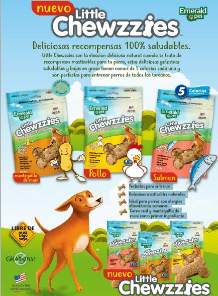 EMERALD PET Dog Snack Little Chewzzies