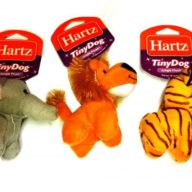 HARTZ Perro Tiny Dog Peluche Jungle Surtido