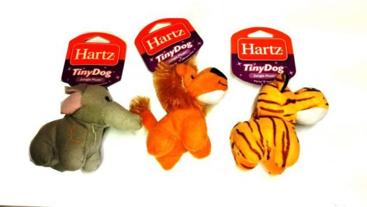 HARTZ Perro Tiny Dog Peluche Jungle Surtido