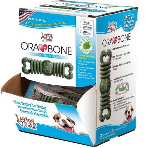 ORABONE Dog Dental Treat Por Unidad Small