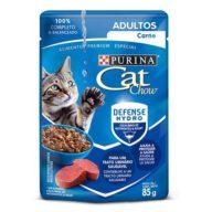 Cat Chow Pouch Adultos Pescado 85gr