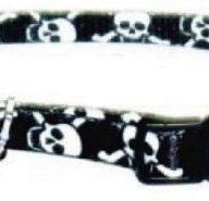 COASTAL Collar Gato Fashion Pirata Negro