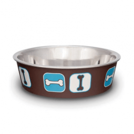 LOVING PETS Comedero Coastal Cafe-Azul Small
