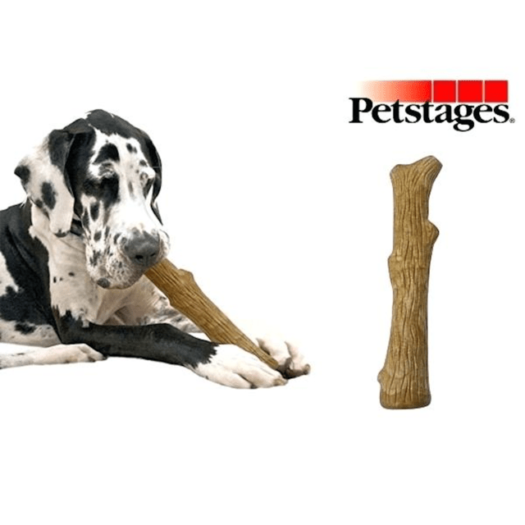 PETSTAGES Perro Dogwood Palo Madera